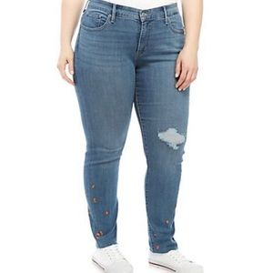 Levi's 311 Shaping Embroidered Jeans (Plus Size)